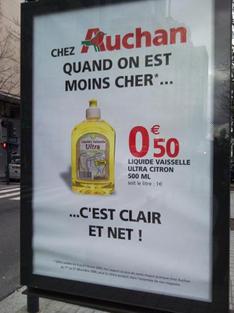 Carrefour ou leclerc le moins cher